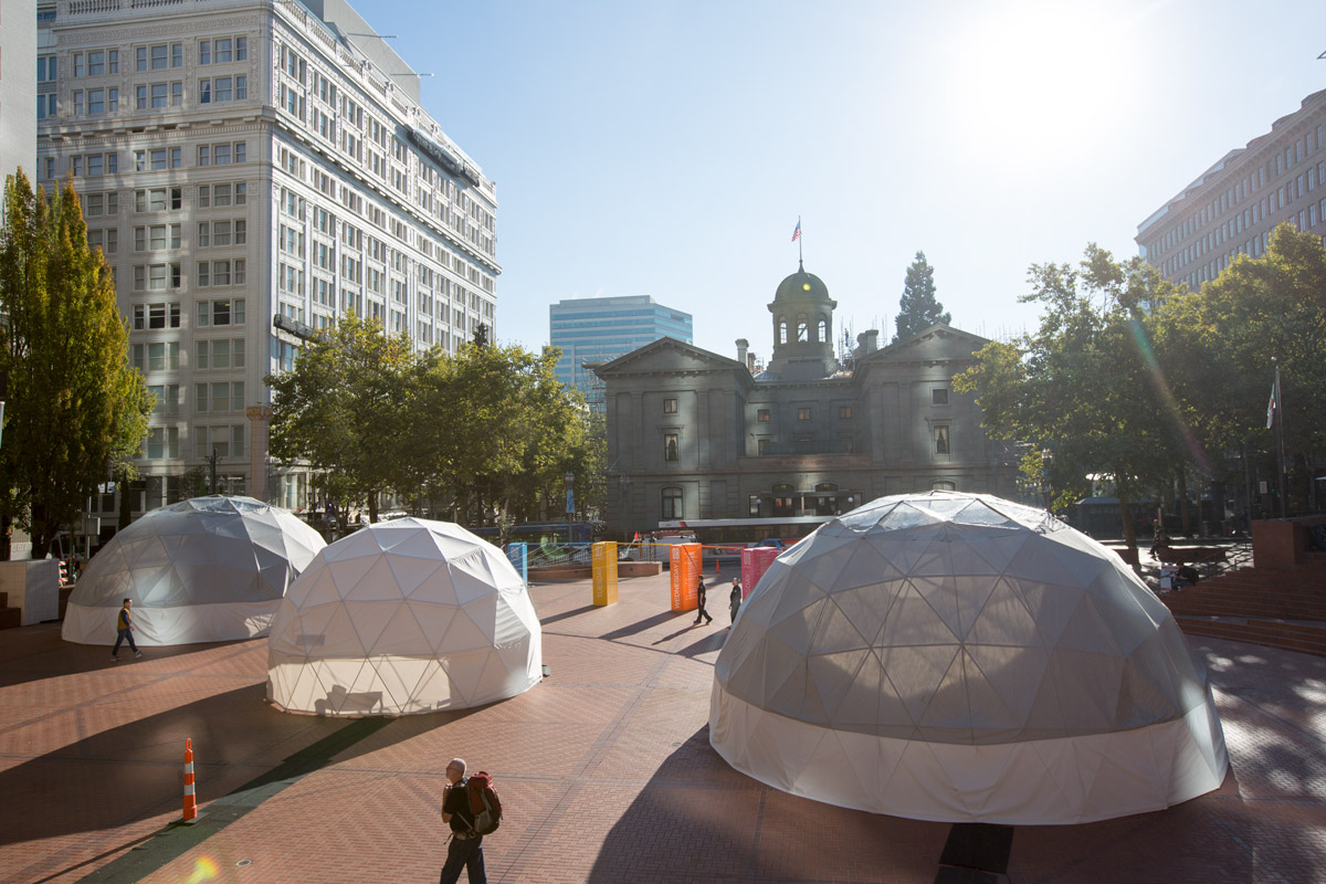 Geodesic Domes >